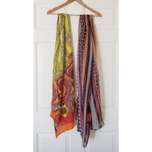NEW two scarves bundle